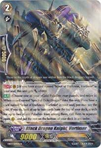 Cardfight!! Vanguard TCG - Black Dragon Knight, Vortimer (EB03/014EN) - Cavalry of Black Steel