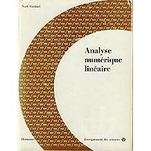 Analyse numerique lineaire