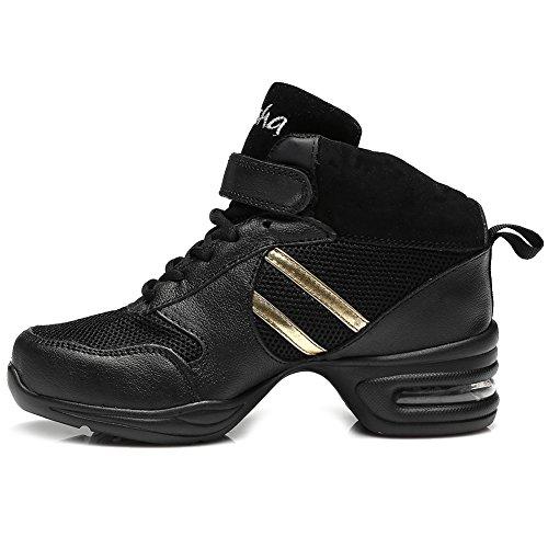 de Gymnastique Baskets de de Danse amp;Jazz Hommes HIPPOSEUS Modèle Air et Cuir de Mesh de de Chaussons Femmes Soft Sport Sneaker Plein Chaussures T05 Baskets Modern wBHXwxzqt