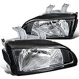 Spec-D Tuning LH-CV92JM-APC Honda Civic Ex Dx Lx Black Housing Headlights