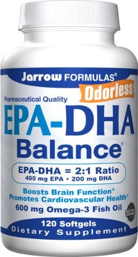 Jarrow Formulas EPA-DHA Balance, 120 Capsules