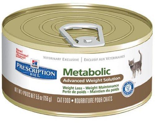Hills Prescription Diet Feline Metabolic Cat Food 24 x 156g
