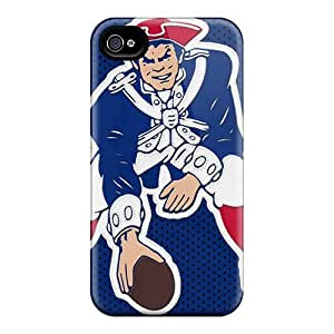 Snap-on New England Patriots Cases Covers Skin Compatible With Iphone 5/5S