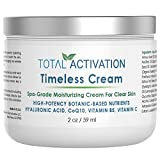 Face Moisturizer Dry Skin - Collagen Moisturizing Face Cream Day & Night, Dry/Oily & Sensitive Skin, Natural Clear Face Moisturizer, Collagen Protein Peptides, Anti Aging & Anti-Wrinkle with Natural Hyaluronic Acid, CoQ10, 2 oz