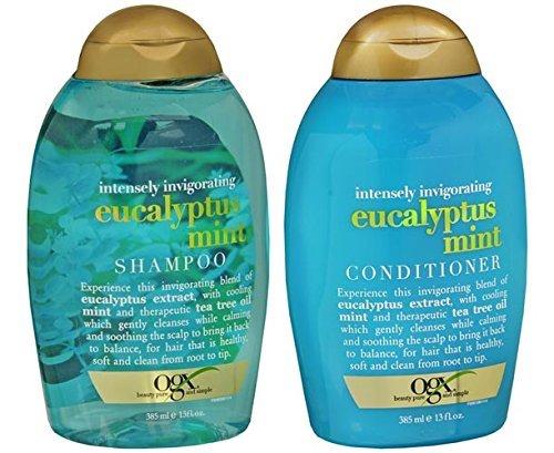 OGX Eucalyptus Mint Shampoo & Conditioner (13 Ounces)