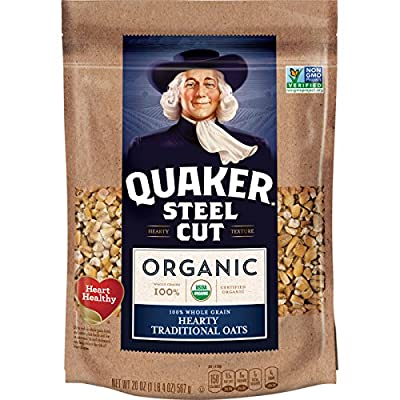 Simple & Wholesome Organic Multigrain Hot Cereal Steel cut Oats by Quaker