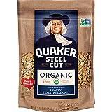 Quaker Organic Steel Cut Oatmeal, Breakfast Cereal, Non-GMO Project...