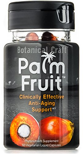 Palm Fruit - Anti-Aging Supplement for Skin Health, Hair Loss, & Sunscreen Protection (60 Pills)