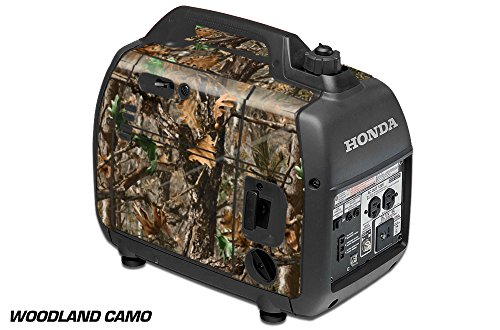 AMR Racing DECALS ONLY for Honda EU2000i Skin Camping Portable Generator WOODLAND CAMO by AMR Racing