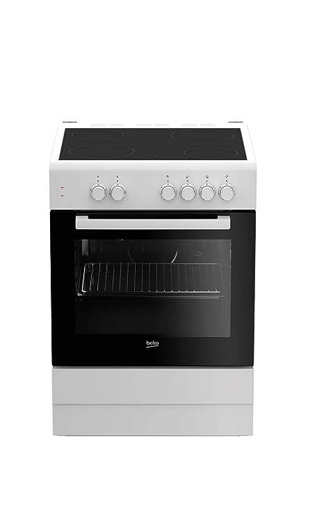 Beko Cocina VITRO FSS67000GW 4F 60CM Blanca: 303.43: Amazon ...