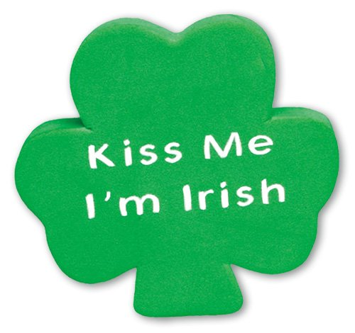 Kisses Toppers - Tenna Tops Car Antenna Topper/Antenna Ball/Mirror Dangler (Irish (Kiss Me))