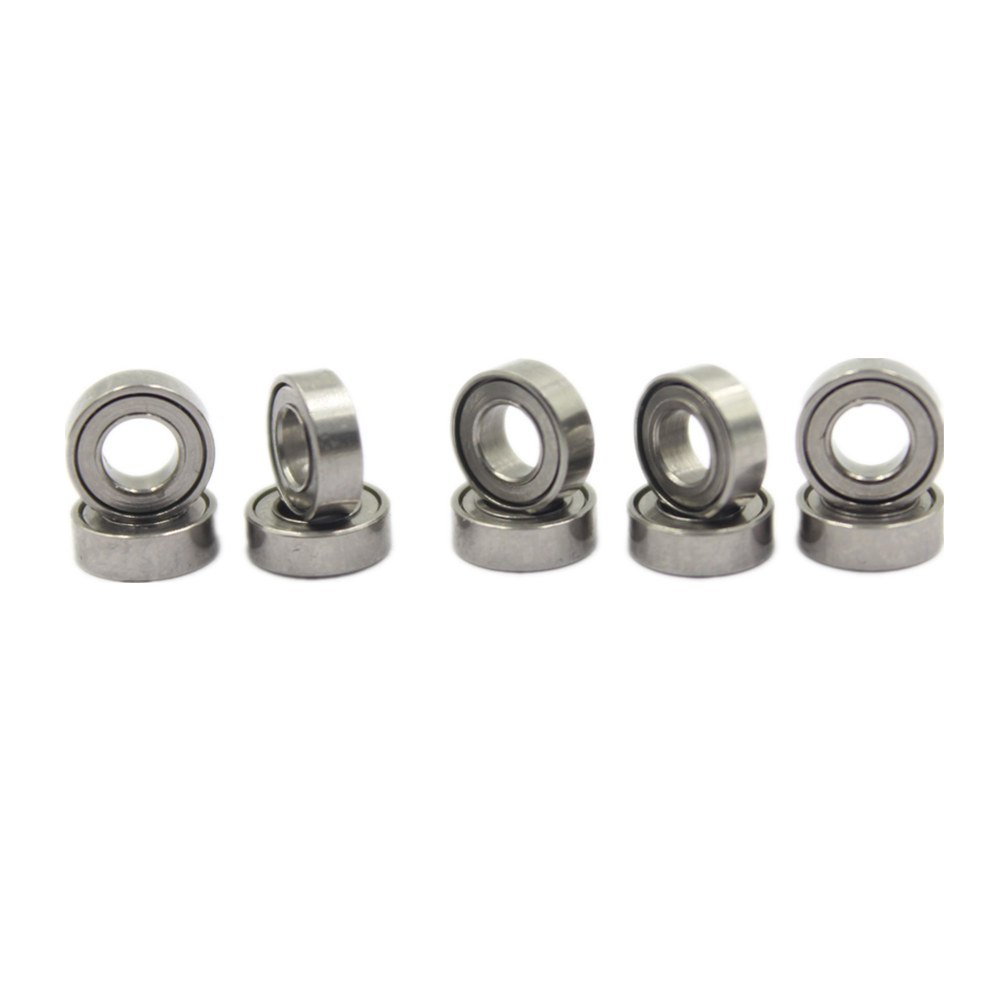 10pcs Hobbypark Micro Ball Bearings 3x6x2mm Metal Shielded For RC Car Quadcopter Helicopter Replace Traxxas - 6642 DNhobby