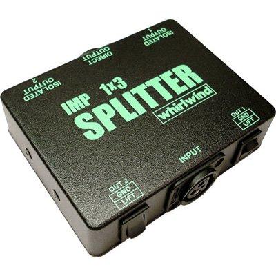 Mic Splitter Transformer - Whirlwind SP1X3