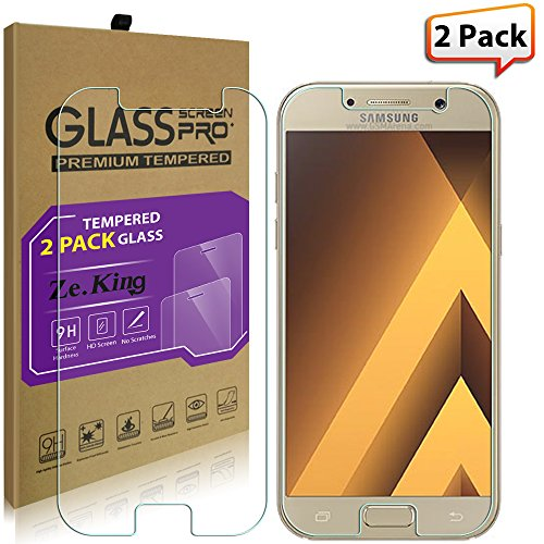 Tempered Glass Screen Protector for Samsung A5 - 2