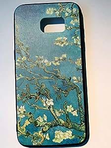 Samsung S7edge Silicon Ultra Thin Phone Case Apricot Tree VAN GOGH Design
