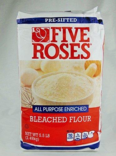 Five Roses All Purpose Enriched Flour 5.5 Lb / 2.49 Kg