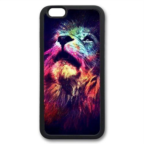 Coque silicone BUMPER souple IPHONE 6 - Lion tigre animaux 3 DESIGN case + Film OFFERT + choisir modele telephone ci dessous