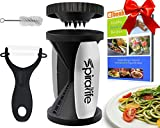 The-Original-SpiraLife-Vegetable-Spiralizer-Spiral-Vegetable-Slicer-Zucchini-Spaghetti-Maker-and-Recipe-eBook-Package-2-Pasta-Styles-in-One