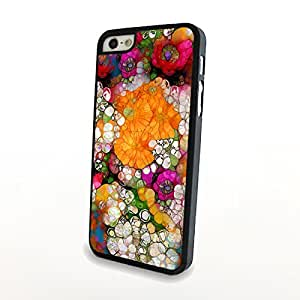 CaseColorful Cute Flowers Matte Pattern PC Phone Cases fit for Fresh Beautiful iPhone 5/5S Cases