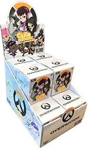 Overwatch Cute But Deadly Mystery Figure Complete Box of 12 Random Figures