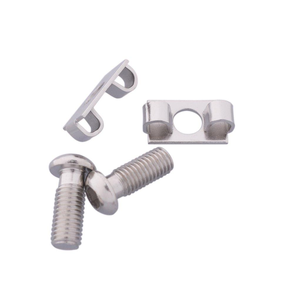 Ewead,10pcs M12 Elastic Connector End Spring Fastener for 4545 Aluminum Profile Accessories by Ewead (Image #2)
