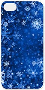 Snow Flake iPhone 5/5s Case Cover with White Side