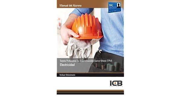Tarjeta Profesional de la Construcción Sector Metal TPM ...
