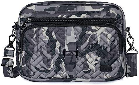 Lug Carousel XL Cross Body Bag, Camo Midnight