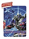 "Hasbros Transformers 4, ""Turn Up"" Fleece Throw Blanket, 40"" x 50"", Multi Color"