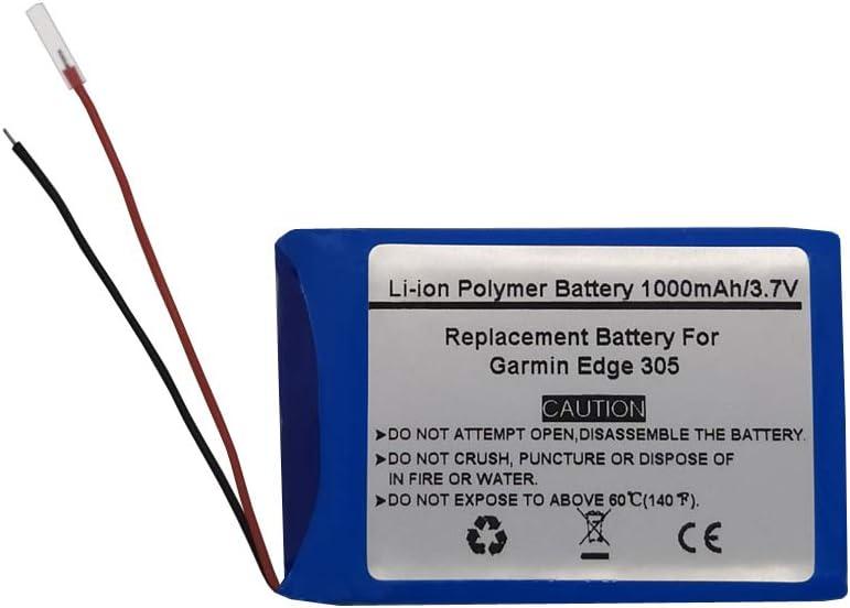 Bateria 361-00025-00 para gps Garmin Edge 305 (3.7V/1000mAh)