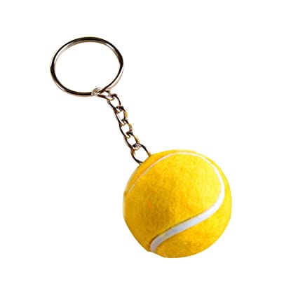 Llavero con forma de pelota de tenis de Daliuing, B, 8 * 3.5 ...