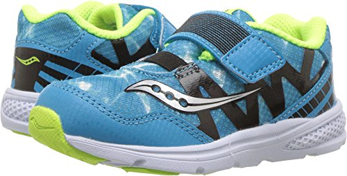 Saucony Kids' Baby Ride Pro Running-Shoes,Ocean Wave Blue,9 Medium US Toddler