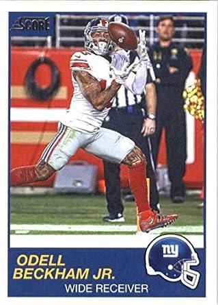 78afdf02e5f12 Amazon.com: 2019 Score #175 Odell Beckham Jr. New York Giants ...