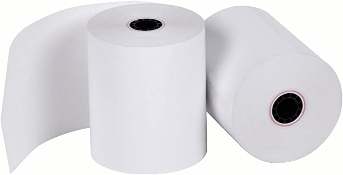 """2-1//4/"""" x 85/' PoS THERMAL RECEIPT PAPER 200 NEW ROLLS  ** FREE SHIPPING **"""