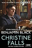 Front cover for the book Christine Falls by Benjamin Black