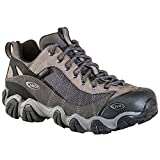 Oboz Men's Firebrand II Low Waterproof Hiking Shoes Grey Black 12