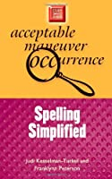 Spelling Simplified Front Cover