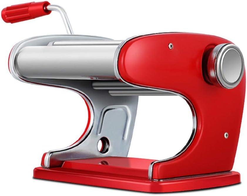 YUHT Máquina de Fideos Manual, máquinas de Pasta Manual, pequeñas empanadillas, máquina de Piel, amasadora, máquina de pelar Ramen, Rodillo y Cortador