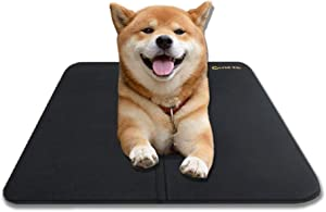 Pet Dog Cooling Mat, Pets Cool Bed, Chilly Ice Cooler Bed for Dogs Pets Puppy, Washable Dog Mattress Cold Pillow Beds, Cats Cool Mat Pads for Kennels, Crates and Beds Summer