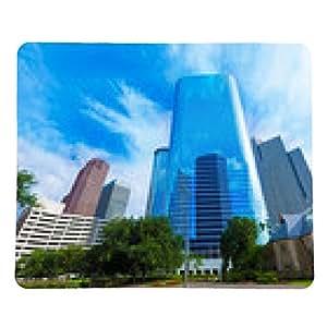 alfombrilla de ratón el centro de Houston Smith St horizonte de Texas US - rectangular - 23cm x 19 cm