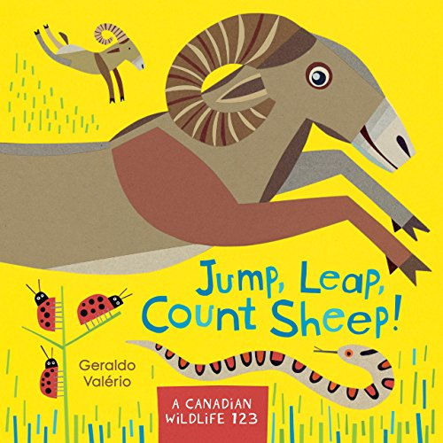 Jump, Leap, Count Sheep!: A Canadian Wildlife 123