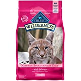 BLUE Wilderness High Protein Grain Free Adult Dry Cat Food, Salmon 11-lb