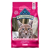 Blue Buffalo Wilderness High Protein Grain Free Adult Dry Cat Food - Salmon 11-lb