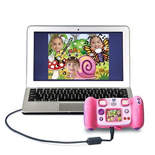 51mQJuEQyCL - VTech Kidizoom Camera Pix, Pink (Frustration Free Packaging)