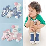 Lalago Baby Cute Organic Cotton Socks for Girls
