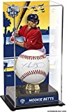 Mookie Betts Boston Red Sox Autographed Baseball 2016 MLB All-Star Game Sublimated Display Case with Gold Glove Holder - Fanatics Authentic Certified