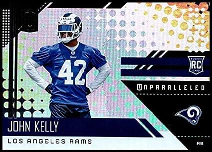 a5c88d621 2018 Panini Unparallel NFL  219 John Kelly RC Rookie Los Angeles Rams  Rookie Panini Football