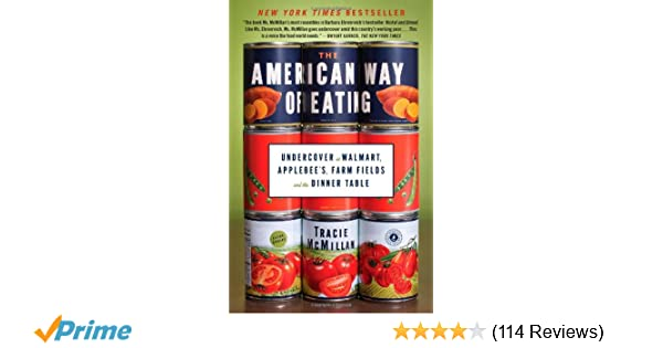 Amazon com: The American Way of Eating: Undercover at Walmart
