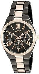 XOXO Women's Quartz Metal and Alloy Automatic Watch, Color:Two Tone (Model: XO294)