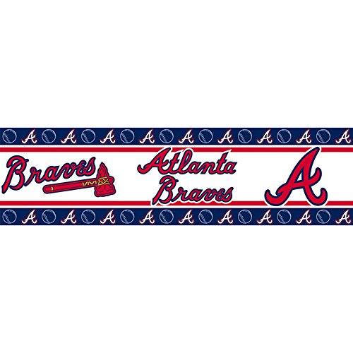 MLB Atlanta Braves Wall - Wall Mlb Border